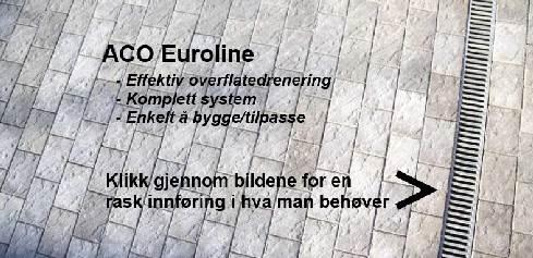 ACO Self Euroline Renne 1,0 m