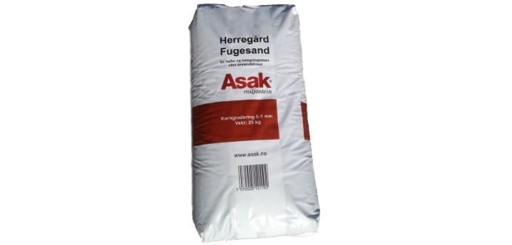 Asak Fugesand 0-1mm 25kg sekk