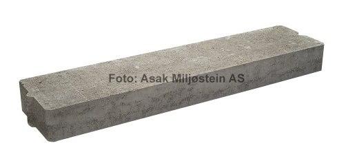 Asak Sålebjelke for støttemur 1m