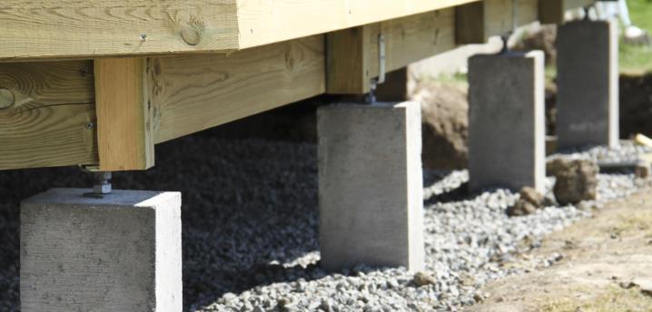 Benders Plint Fundament 70cm
