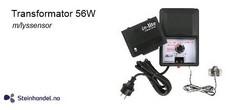 Transformator 56w m/lyssensor