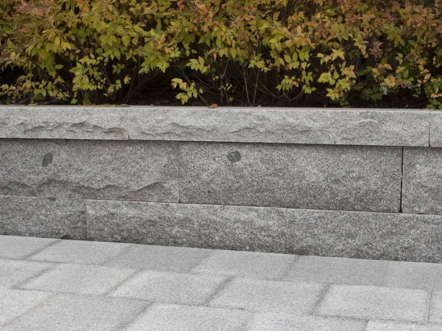 Granitt Toppstein for Mur 30x30