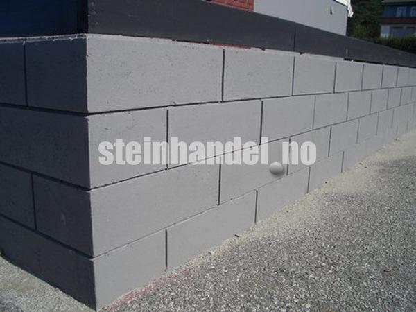 Systemblokk støttemur