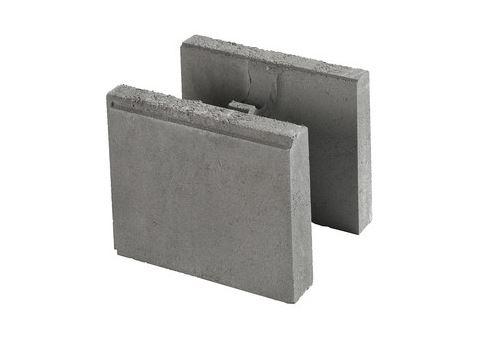 Multiblokk Forskalingsblokk, halvblokk åpen (20cm bred)
