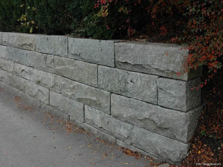 Granitt Murblokk 30x30 Indisk