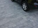 Asak Relieff kvadrat XL Gråmix 6cm3
