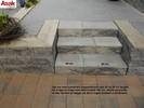 Asak Trappeelement 60x37x153