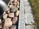 Granitt Kantstein 7x15x60 cm Flammet4