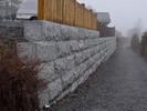 Granitt Murblokk 40x40 Kinesisk Lys Grå2