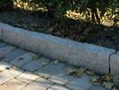 Granitt Kantstein 8x20cm råhugd